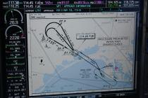 Chartview: approche VOR X piste 12, Montpellier Méditérannée