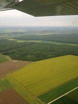 Sortie de la couche nuageuse soudée (OVC 020) à Dijon