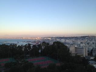 Alger depuis l'hôtel El Aurassi