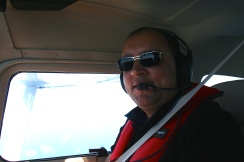 Mahmoud, co-pilote et guide local !