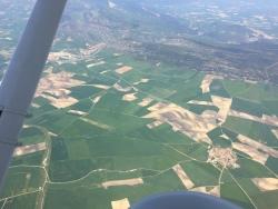 Champs au nord de l'Espagne..